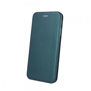 Dėklas Book Elegance Samsung G998 S21 Ultra tamsiai žalias