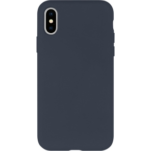 Dėklas Mercury Silicone Case Samsung A426 A42 tamsiai mėlynas