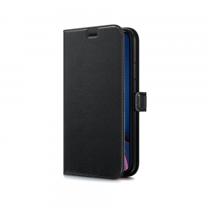 Dėklas BeHello Gel Wallet Samsung G998 S21 Ultra juodas