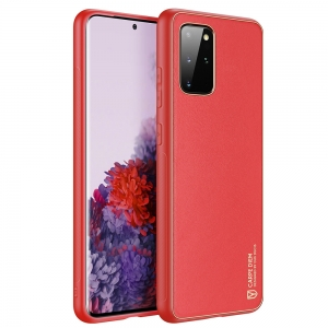 Dėklas Dux Ducis Yolo Apple iPhone 12 raudonas