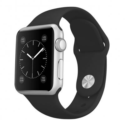 Apyrankė originali Apple Watch 44mm Sport Strap S / M -M / L juoda