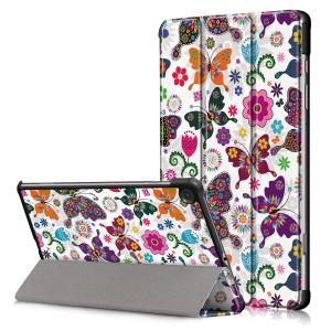 Dėklas Smart Leather Huawei MediaPad T5 10.0 butterfly