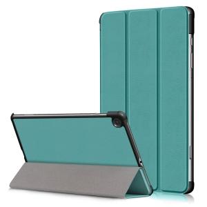 Dėklas Smart Leather Samsung T500 / T505 Tab A7 10.4 2020 šviesiai žalias