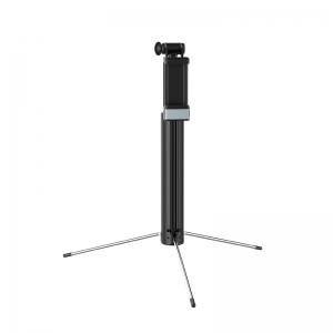 Asmenukių lazda Hoco K10A Magnificent wireless iš aliuminio juoda