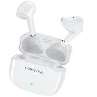 Belaidė laisvų rankų įranga Borofone BE47 Perfecto TWS balta