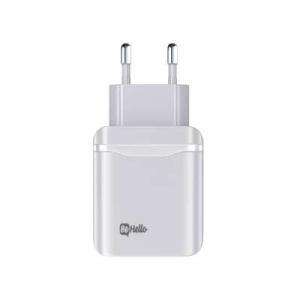 Įkroviklis buitinis BeHello PD 20W Quick Charge baltas
