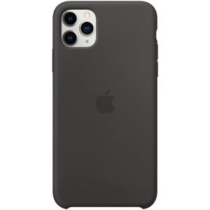 Dėklas originalus MX002ZM / A Silicon Apple iPhone 11 Pro Max juodas