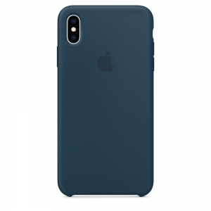 Dėklas originalus MUJQ2ZM / A Silicon Apple iPhone XS Max žalias