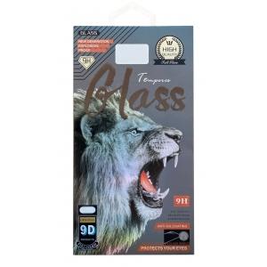 LCD apsauginis stikliukas 9D Full Glue Samsung G998 S21 Ultra juodas