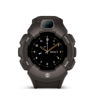 Išmanusis laikrodis Forever Care Me KW-400 juodas