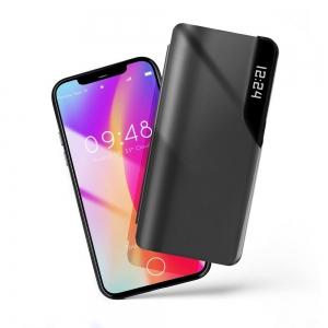 Dėklas Smart View Samsung S21 Plus juodas