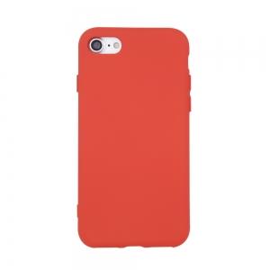 Dėklas Mercury Silicone Case Samsung S21 raudonas