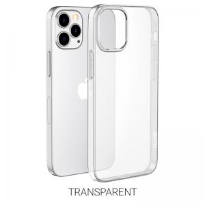 Dėklas Hoco TPU Magnetic Protective Apple iPhone 12 / 12 Pro skaidrus
