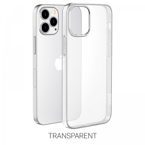 Dėklas Hoco TPU Magnetic Protective Apple iPhone 12 Pro Max skaidrus