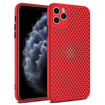 Dėklas Breath Case Apple iPhone 11 Pro raudonas