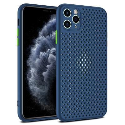 Dėklas Breath Case Apple iPhone 11 Pro tamsiai mėlynas