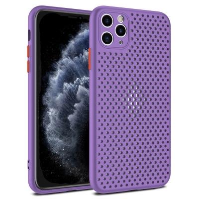 Dėklas Breath Case Apple iPhone 12 Pro Max violetinis