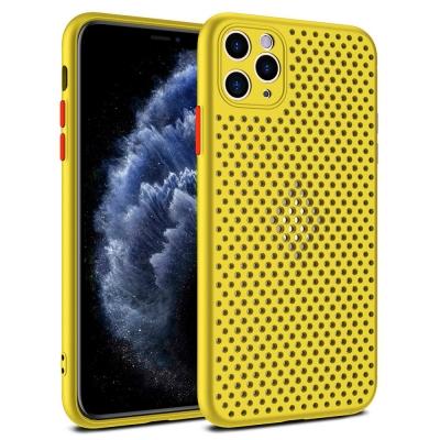 Dėklas Breath Case Apple iPhone 12 Pro Max geltonas