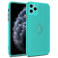 Dėklas Breath Case Apple iPhone 12 / 12 Pro turquoise