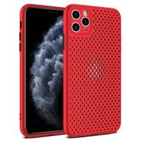 Dėklas Breath Case Apple iPhone 7 / 8 / SE2 raudonas