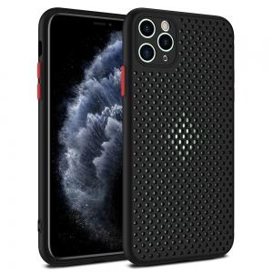 Dėklas Breath Case Samsung A415 A41 juodas