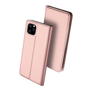 Dėklas Dux Ducis Skin Pro Samsung G998 S21 Ultra rožinis-auksinis