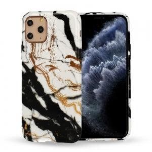 Dėklas Marble Silicone Apple iPhone 12 / 12 Pro Design 3