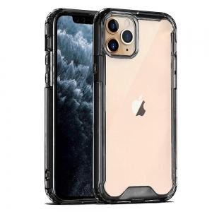 Dėklas Protect Acrylic Apple iPhone 12 / 12 Pro juodas