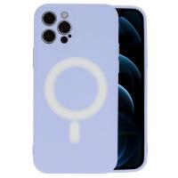 Dėklas MagSilicone Apple iPhone 12 Pro violetinis