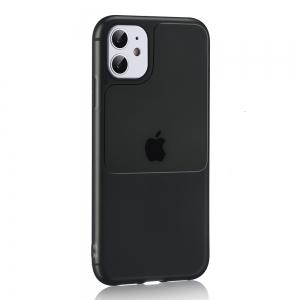 Dėklas Window Case Apple iPhone 12 / 12 Pro juodas