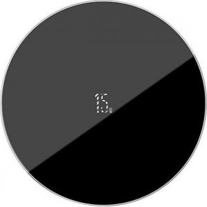 Įkroviklis belaidis Baseus Simple Type-C (15W) juodas WXJK-B01