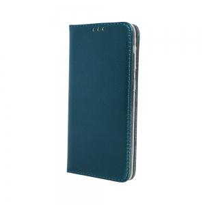 Dėklas Smart Magnetic Xiaomi Redmi Note 10 Pro / Redmi Note 10 Pro Max tamsiai žalias