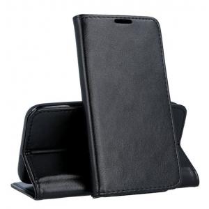 Dėklas Smart Magnetic Xiaomi Redmi Note 10 / Redmi Note 10S juodas