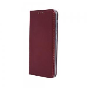 Dėklas Smart Magnetic Xiaomi Redmi Note 10 / Redmi Note 10S bordo