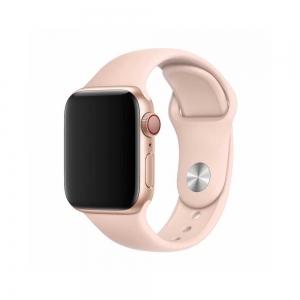 Apyrankė Devia Deluxe 44mm Apple Watch rausvo smėlio spalvos