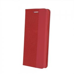 Dėklas Smart Senso Samsung G990 S21 raudonas