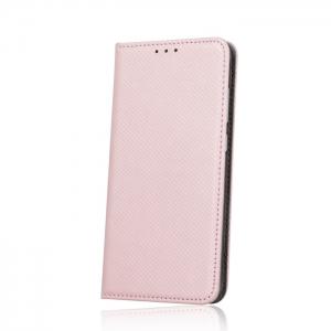 Dėklas Smart Magnet Samsung A525 A52 / A526 A52 5G rožinis-auksinis