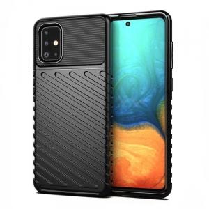 Dėklas Thunder Huawei P Smart 2021 juodas