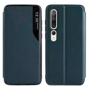 Dėklas Smart View TPU Samsung A125 A12 tamsiai žalias