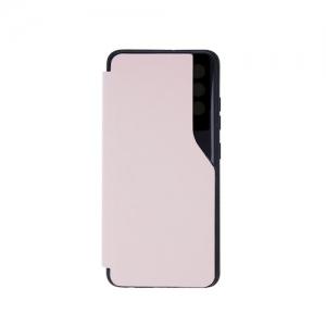 Dėklas Smart View TPU Samsung A125 A12 šviesiai rožinis
