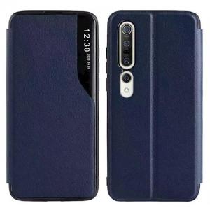 Dėklas Smart View TPU Samsung A125 A12 tamsiai mėlynas