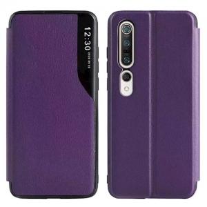 Dėklas Smart View TPU Samsung A525 A52 / A526 A52 5G violetinis