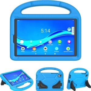 Dėklas Shockproof Kids Samsung T500 / T505 Tab A7 10.4 (2020) tamsiai mėlynas