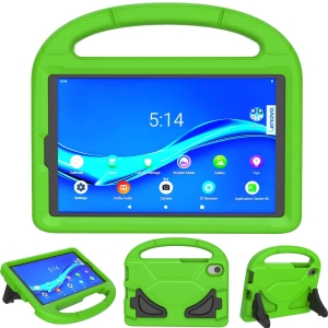 Dėklas Shockproof Kids Samsung T500 / T505 Tab A7 10.4 (2020) žalias