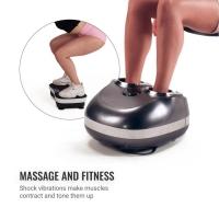 Kojų masažuoklis F907 pilkas