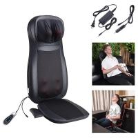 Masažinė sėdynė F887B (kaklo, nugaros ir sėdmenų masažuoklis) pilkas