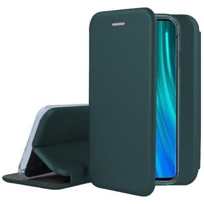 Dėklas Book Elegance Samsung S21 FE tamsiai žalias