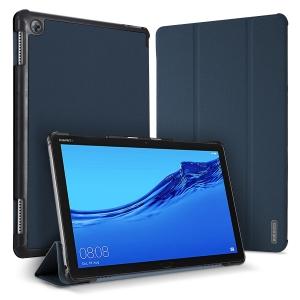 Dėklas Dux Ducis Domo Samsung T730 / T736B Tab S7 FE 2021 / T970 / T976B TAB S7 Plus tamsiai mėlynas