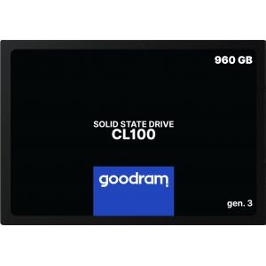 Kietasis diskas SSD Goodram CL100 Gen. 3 960GB SATA lll 2,5