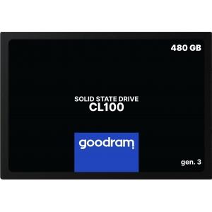 Kietasis diskas SSD Goodram CL100 Gen. 3 480GB SATA lll 2,5